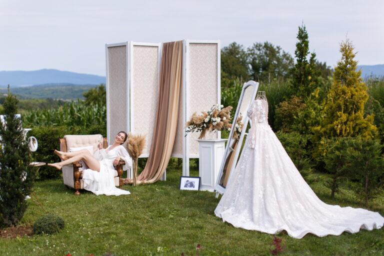 Как защитить свадебное платье от грязи