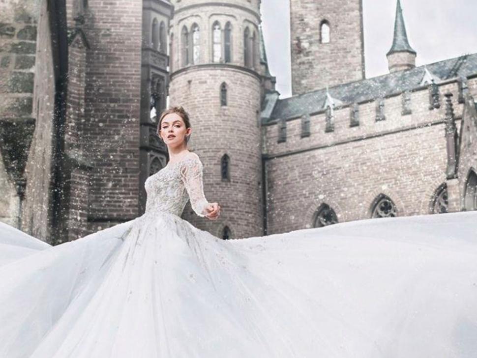 Disney выпустили линейку свадебных платьев
