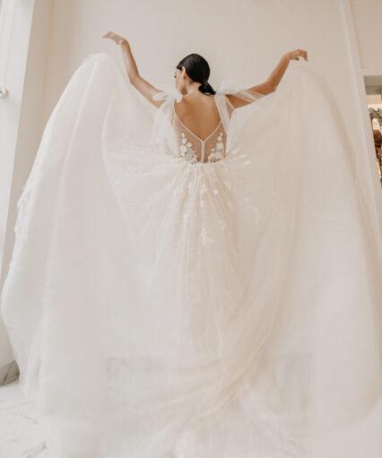 Какой фатин нужен для свадебного платья