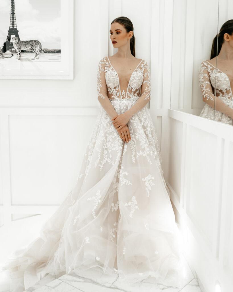 Как выбрать свадебное платье по фигуре